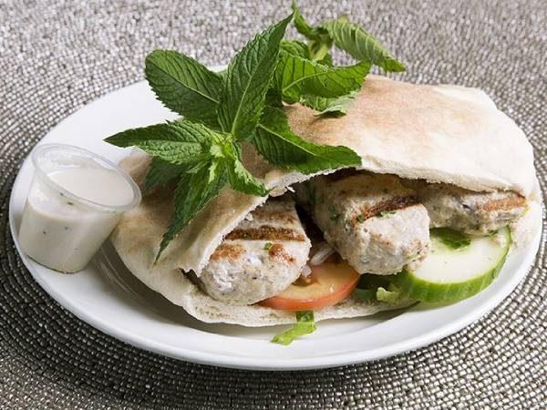 Chicken Kufta (pita or wrap)