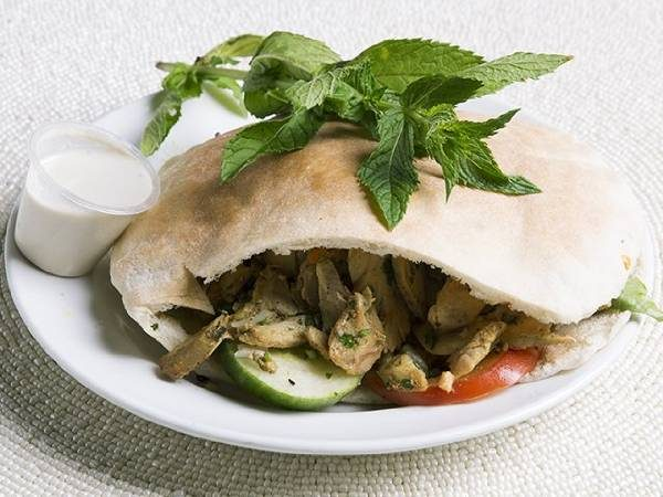 Chicken Shawarma (pita or wrap)