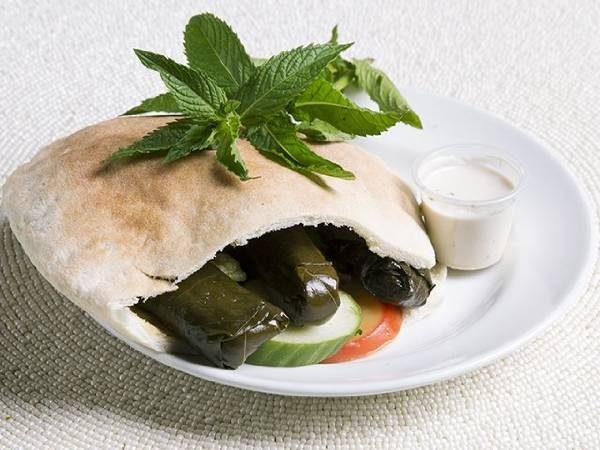 Veggie Dolma (pita or wrap)