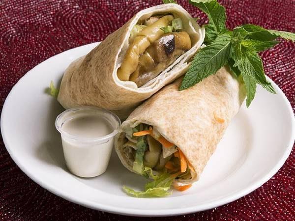 Veggie Eggplant (pita or wrap)